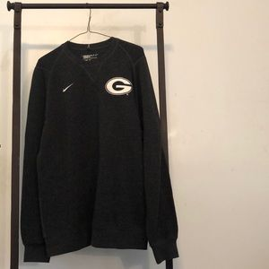 Men's Nike Golf Standard Fit Georgia Sweater